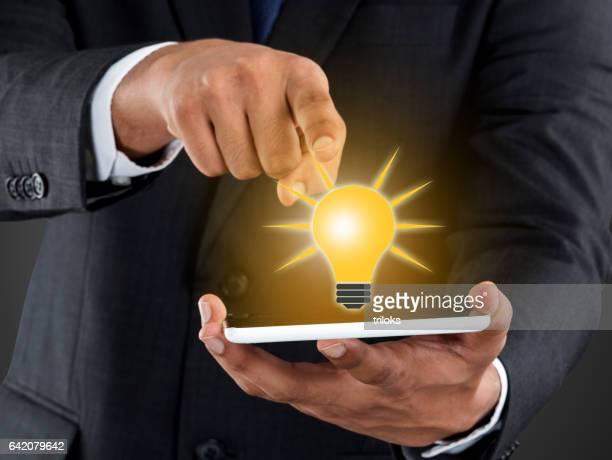 New business idea concept