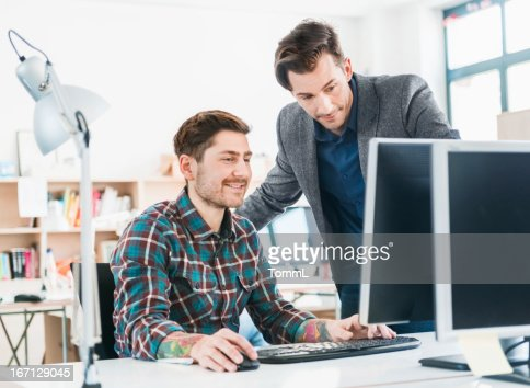 New Business Team Working Together : Stock Photo