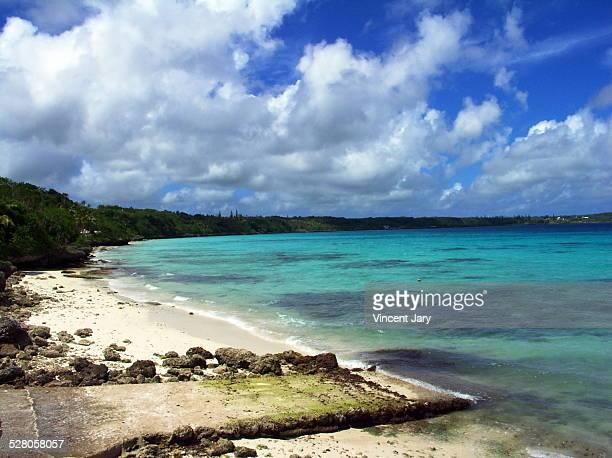 New caledonia island coast