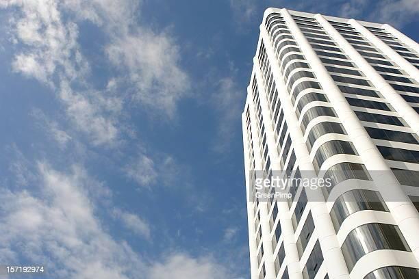 Nouveaux gratte-ciel de Californie d'Architecture et bâtiment
