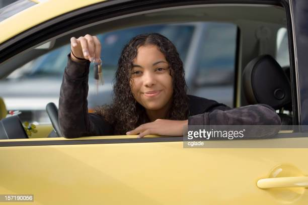 New Car and Teenage Driver