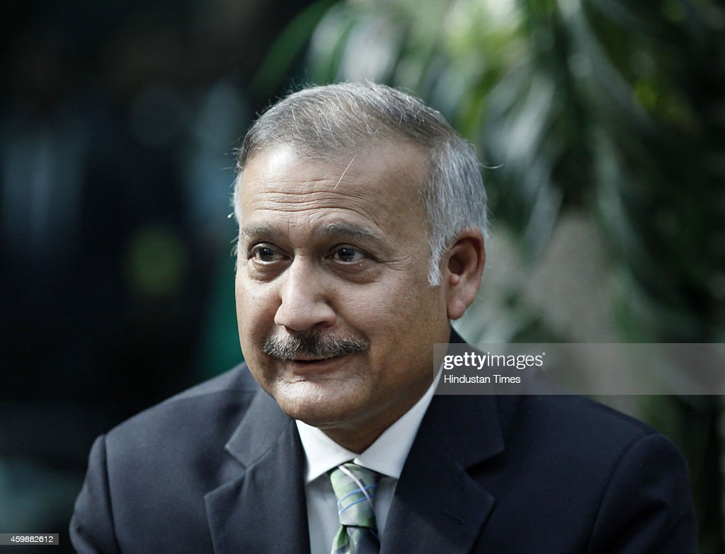 New CBI Director Anil Kumar Sinha speaks to media after he assumed charge as the Director of the Central Bureau of Investigation on December 3 2014...