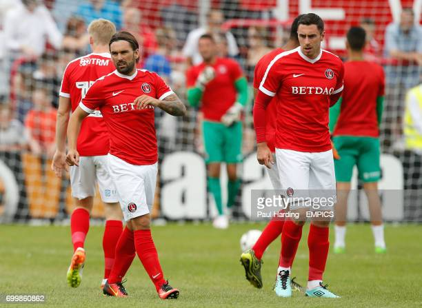 New Charlton Athletic signings Ricky Holmes and Lee Novak