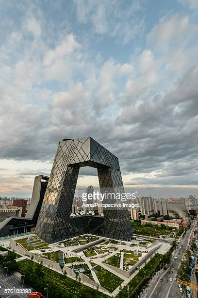 New China Central Television CCTV building