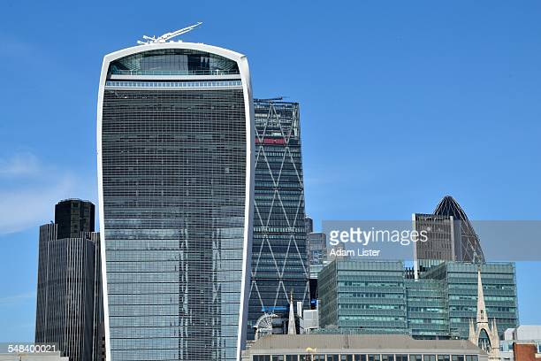 New City of London Skyline