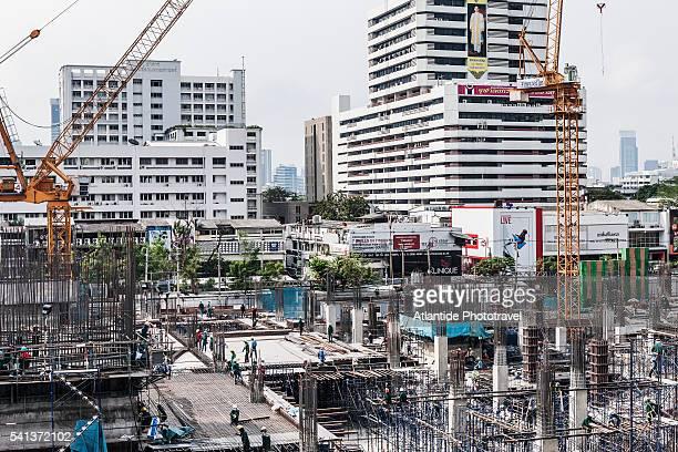 New construction near Siam Square