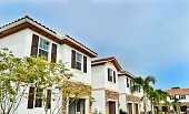 Brand new townhouses in suburban West Palm Beach, Florida
