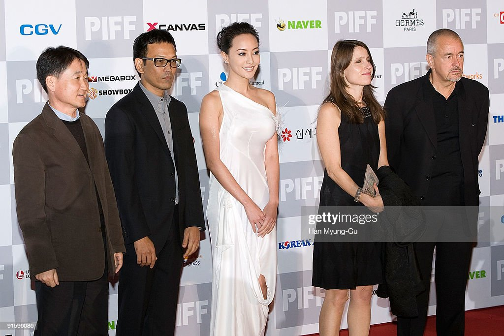 New Currents Award Jurises, Kim Hyung-Koo,Pen-ek Ratanaruang,Terri Kwan,Jean-Jacques Beineix arrives at the opening ceremony of the 14th Pusan International Film Festival on October 8, 2009 in Busan, South Korea. The biggest film festival in Asia showcases 355 films from 70 countries and runs from October 8-16.