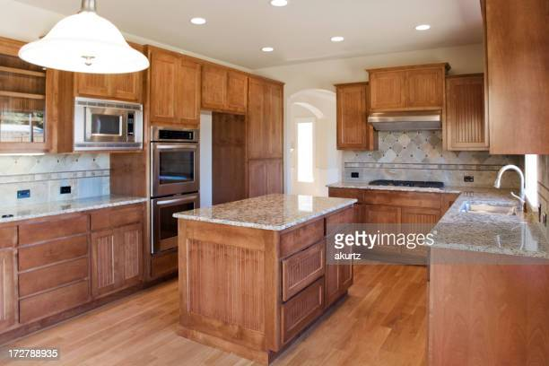 New Custom kitchen with granite counters