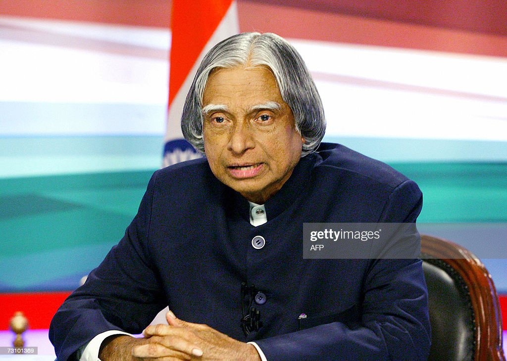 Indian president dr apj abdul kalam addressed the nation on the
