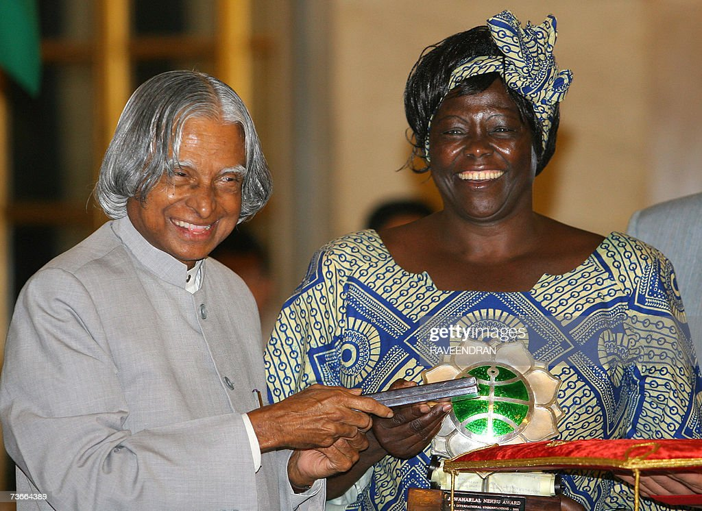 wangari maathais nobel peace prize acceptance Read about her 2004 nobel peace prize the goldman environmental foundation and the green belt movement hosted a memorial service for 1991 goldman prize winner wangari maathai on wednesday night.