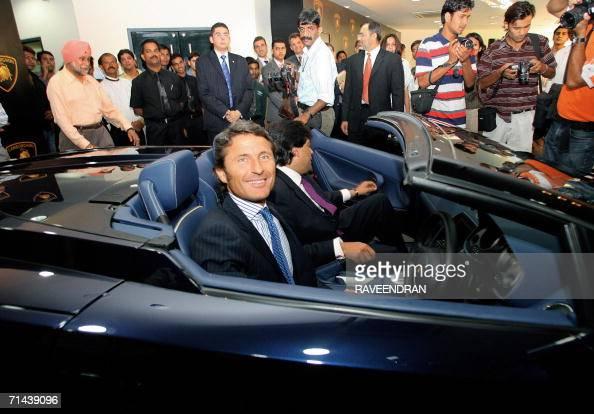 President And Ceo Of Lamborghini Automob Pictures Getty