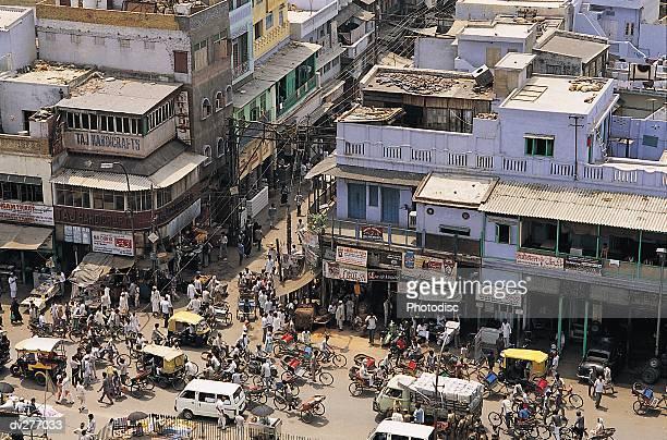 New Delhi street corner