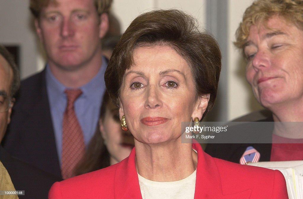 New Democratic Whip, Nancy Pelosi (D-CA).