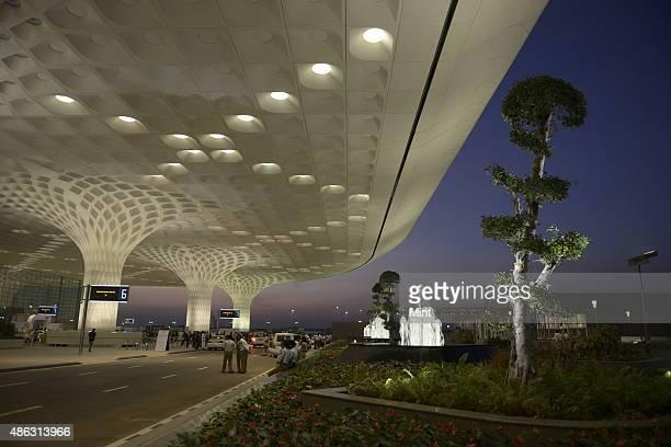 New designed Terminal 2 at Mumbai International Airport on January 10 2014 in Mumbai India