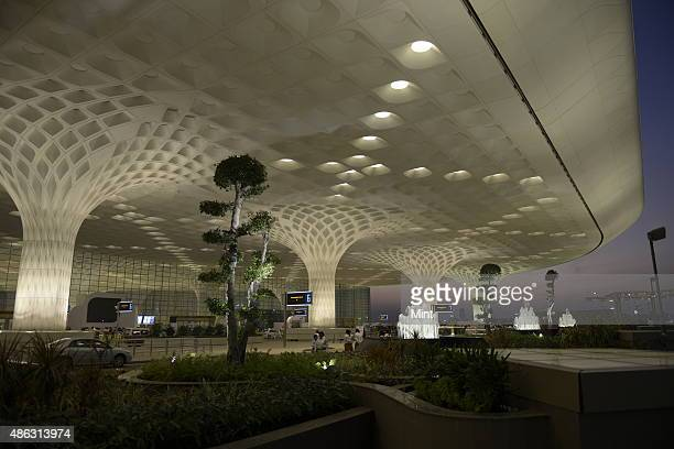 New designed Terminal 2 at Mumbai International Airport on January 10 2014 in Mumbai India
