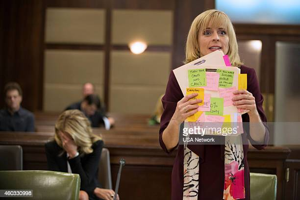 BENCHED 'A New Development' Episode 108 Pictured Eliza Coupe as Nina Maria Bamford as Sheryl