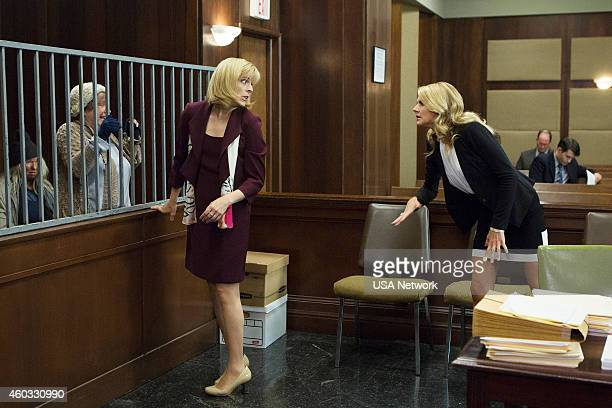 BENCHED 'A New Development' Episode 108 Pictured Maria Bamford as Sheryl Eliza Coupe as Nina