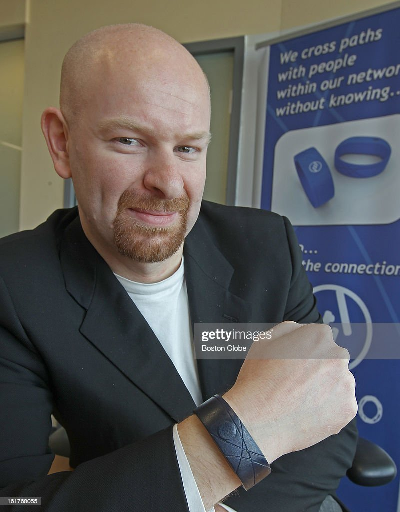 New devices, beyond cell phones and tablets, are being developed to connect us to the internet and social networks. Fabrizio Filippini is the founder of a company developing a bracelet that can be used for social networking at their office.