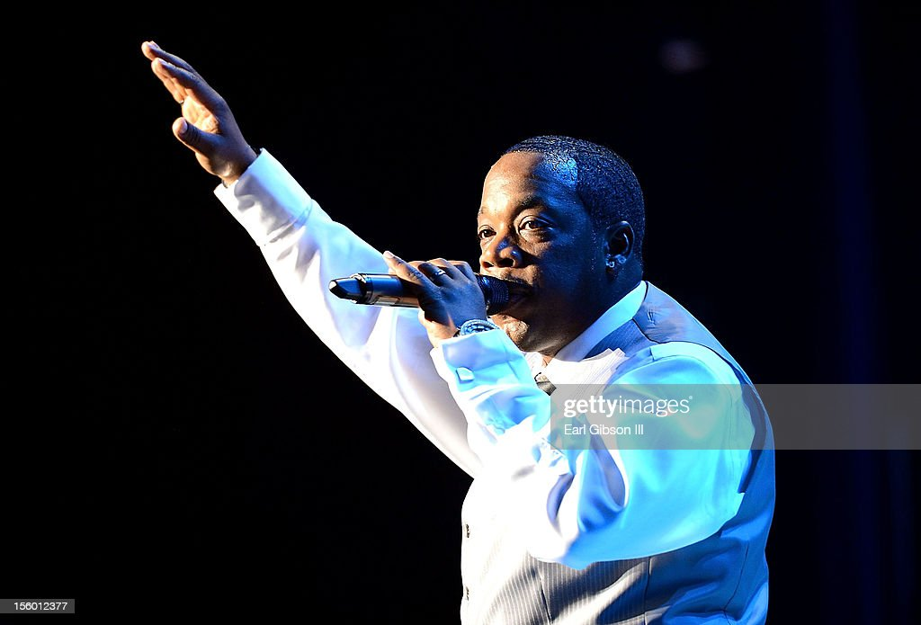 New Edition performs at Soul Train Awards Weekend Live in Concert at PH Live at Planet Hollywood Resort & Casino on November 10, 2012 in Las Vegas, Nevada.