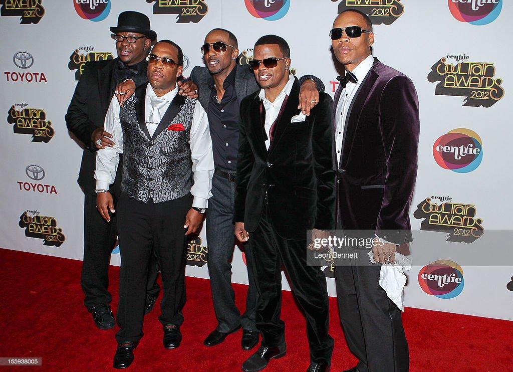 New Editon arrives at the Soul Train Awards 2012 - Arrivals at Planet Hollywood Casino Resort at on November 8, 2012 in Las Vegas, Nevada.