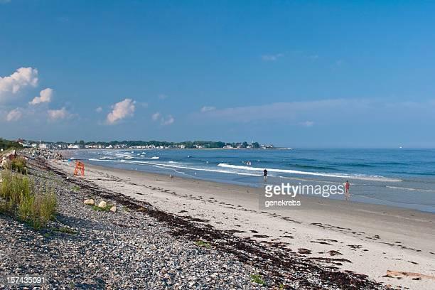 New England Beach Scene