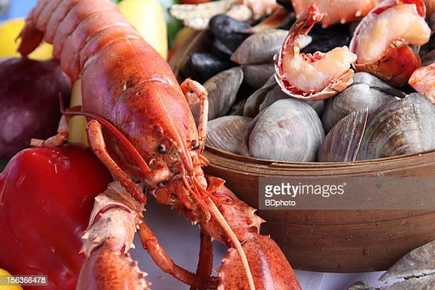 New England clam bake
