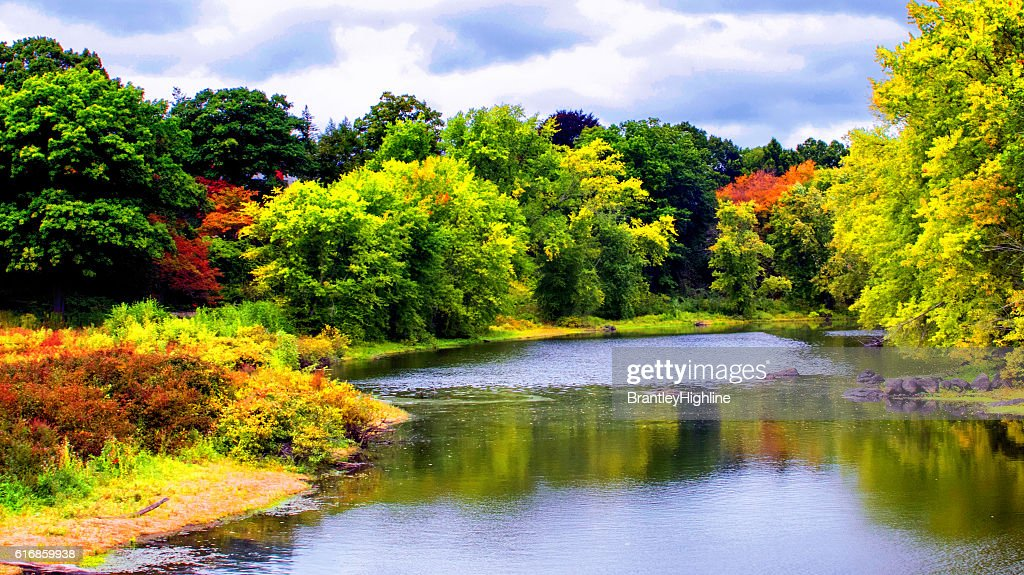 New England Fall Colors : Stock Photo