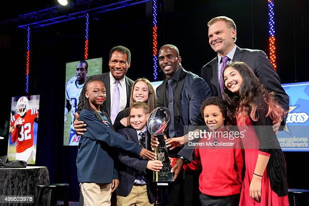 New England Patriots Devin McCourty is honored at Champions For Children's benefitting Boston Children's Hospital at the Seaport World Trade Center...