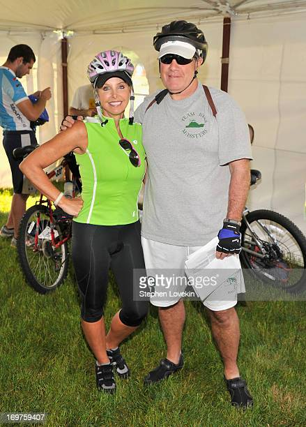 New England Patriots Head Coach Bill Belichick and Linda Holliday attend the 50Mile Start of the Best Buddies Challenge Hyannis Port on June 1 2013...