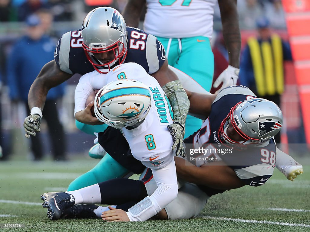 Miami Dolphins Vs New England Patriots at Gillette Stadium