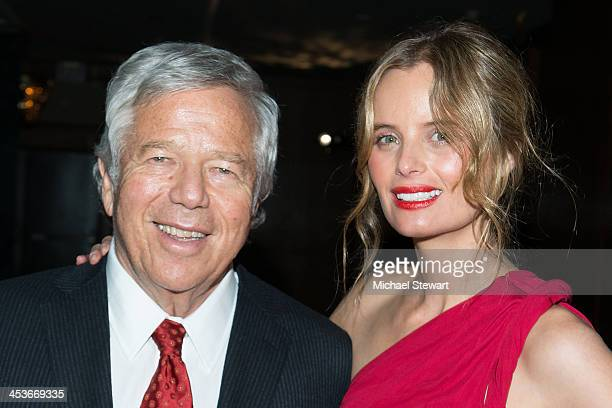 New England Patriots owner Robert Kraft and actress Ricki Noel Lander attend the after party for the 2013 Alvin Ailey American Dance Theater's...