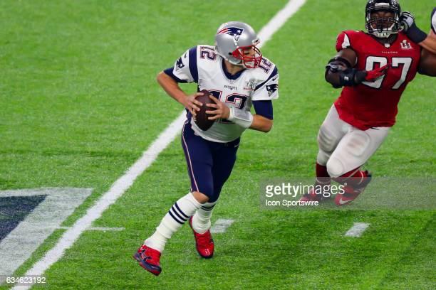 New England Patriots quarterback Tom Brady during the second half of Super Bowl LI on February 5 at NRG Stadium in Houston TX