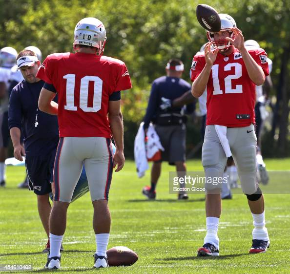 Jimmy Garoppolo Girlfriend: New England Patriots Practice Pictures