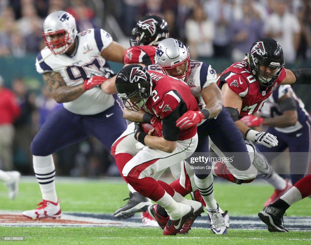 Super Bowl LI New England Patriots Vs Atlanta Falcons At NRG