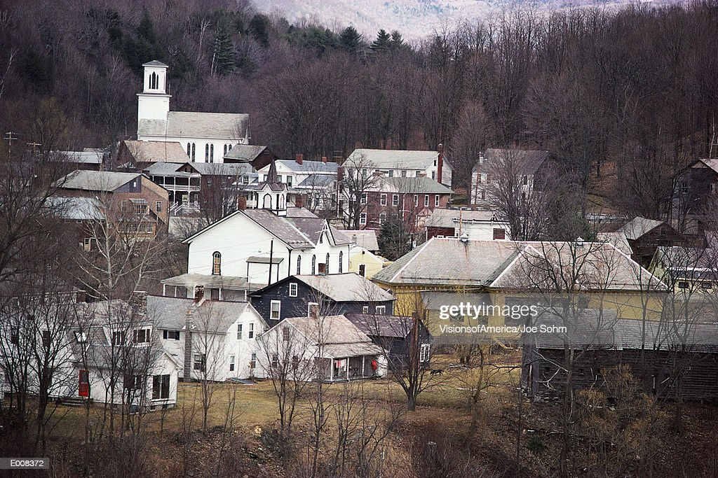 New England town : Stock Photo