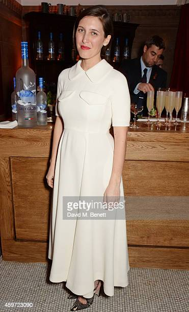 New Establishment Designer nominee Emilia Wickstead attends the British Fashion Awards Nominees' Dinner hosted by Grey Goose at the Soho House PopUp...
