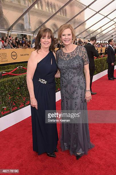 New Executive Director of the SAG Foundation Cyd Wilson and SAG Awards Committee Chair JoBeth Williams attend TNT's 21st Annual Screen Actors Guild...