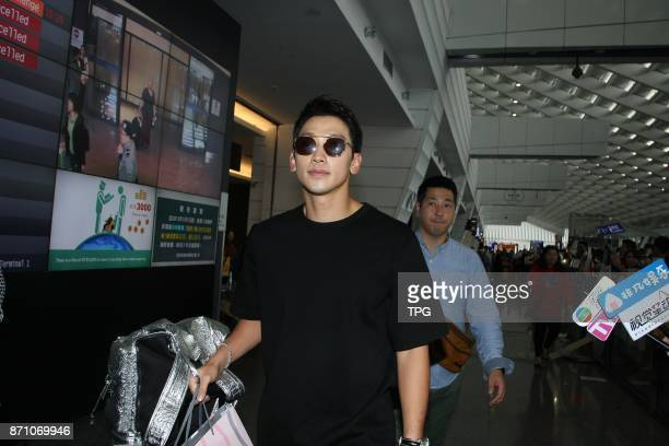New father Rain who was positive in making money to bring up his child came to Taiwan to record TV show Carefree Travelers with Jeong HyeongdonKim...