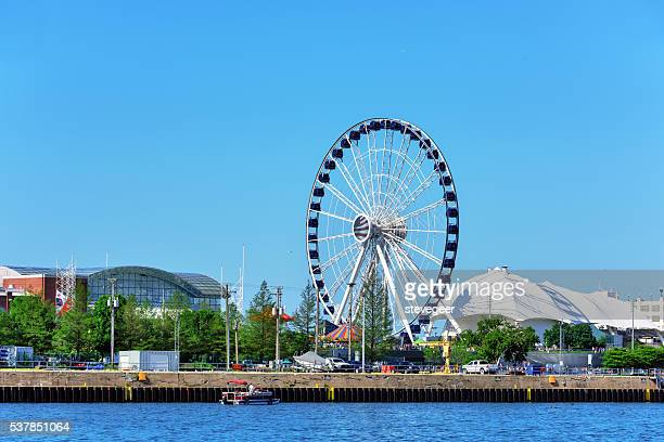 New Ferris Wheel on Navy Pier, Chicago