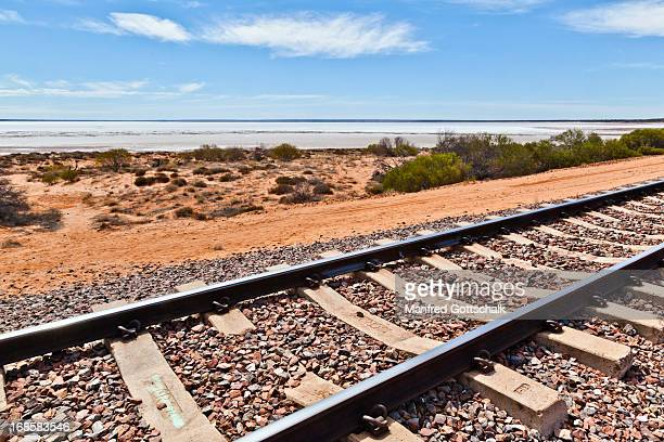New Ghan track at Lake Hart