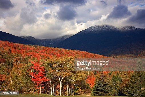 New Hampshire foliage in the White Mountains