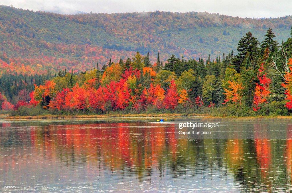 New Hampshire Kayaking Landscape
