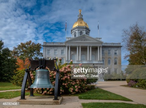 New Hampshire State House : Stock Photo