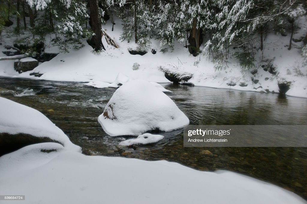 New Hampshire's WHite Mountain National Forest in winter