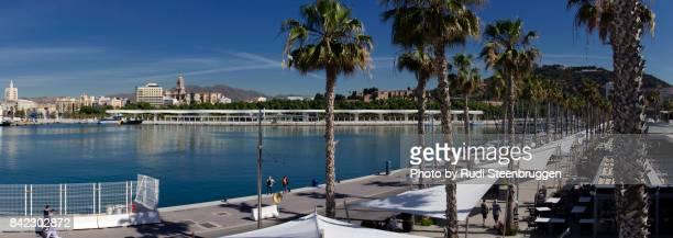 New harbor of Malaga