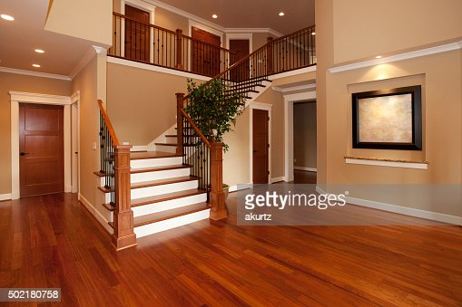 new hardwood stairs and floor