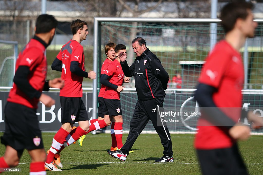 VfB Stuttgart Presents New Head Coach Huub Stevens