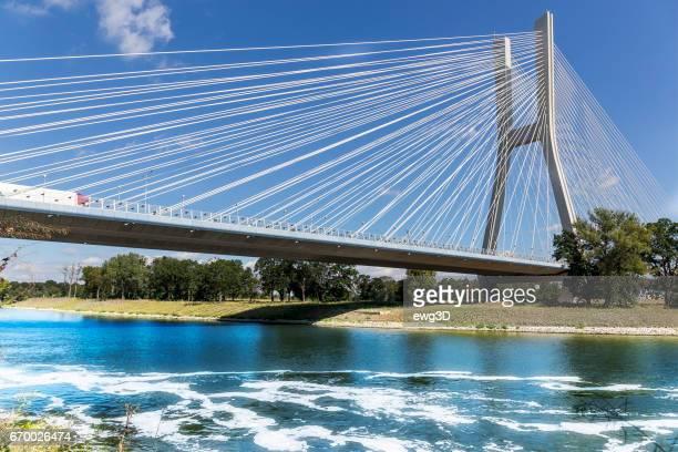 New highway bridge, Wroclaw, Poland