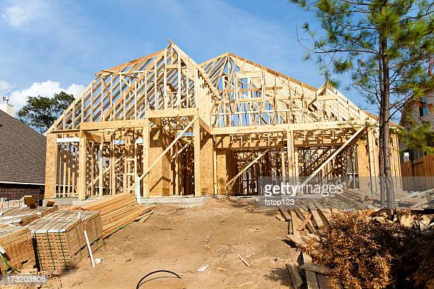 New Home construction in growing subdivision